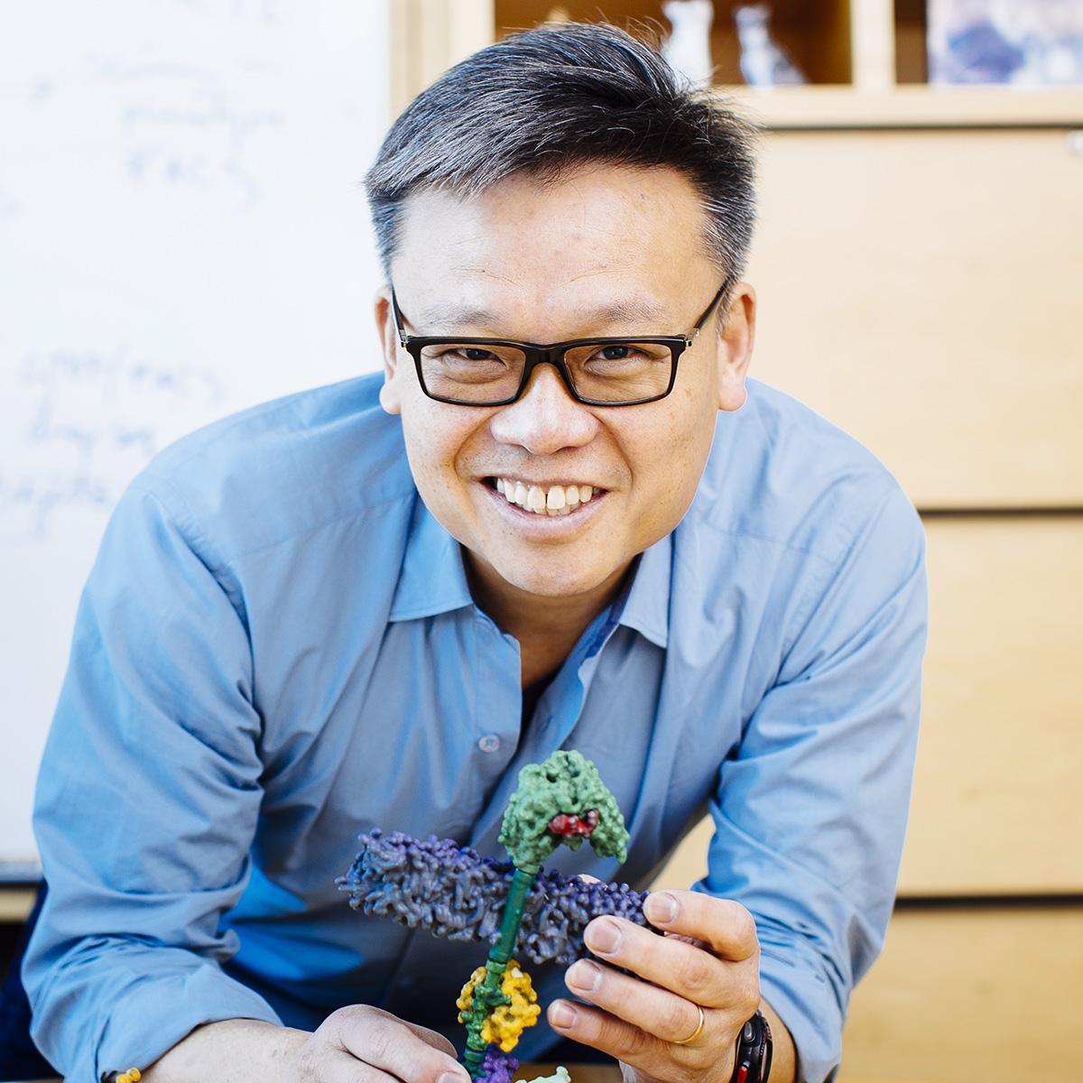 portrait of Wendell Lim