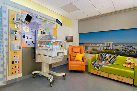 Amenities At New Ucsf Medical Center At Mission Bay Offer