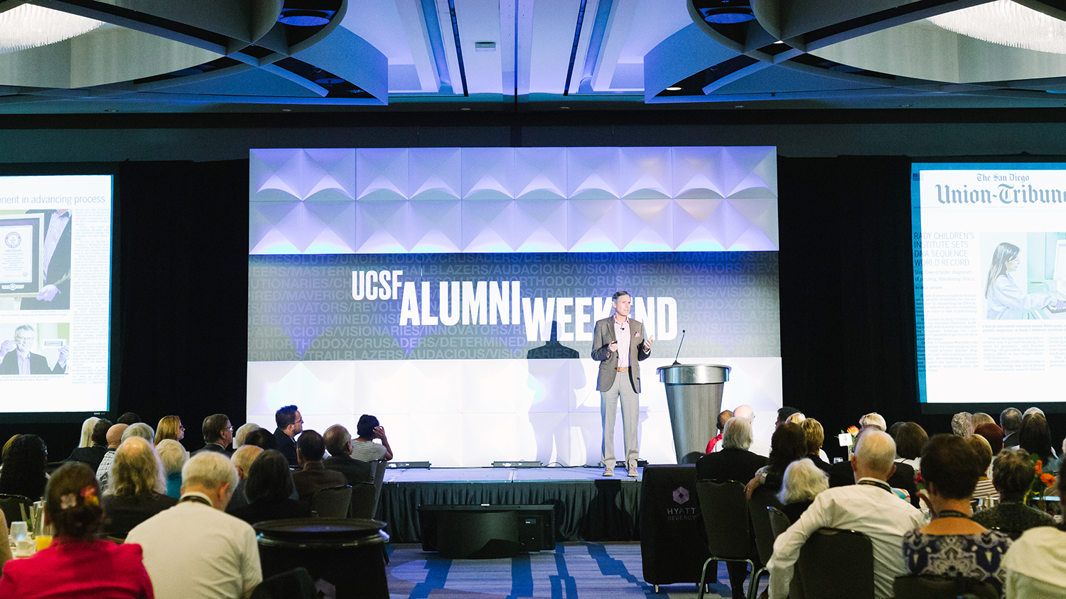 UCSF Campaign Alumni Awards Honor Outstanding Achievements