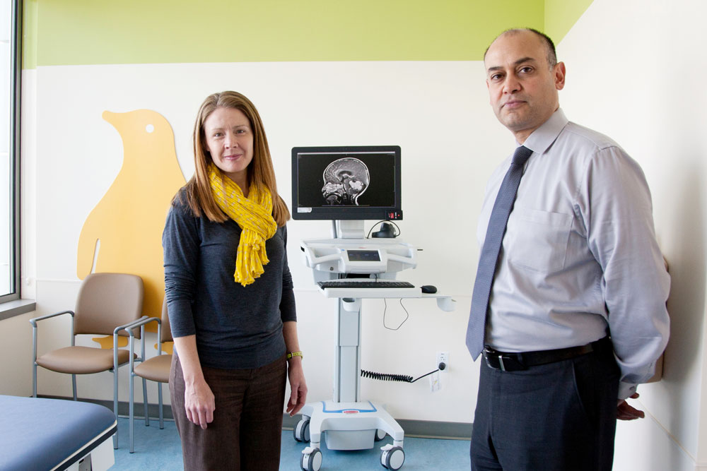 Pediatric Brain Center Assembles Unique Team of Specialists