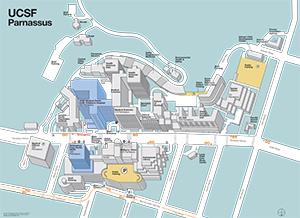Ucsf Parnassus Map