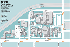 Image of SFGH map