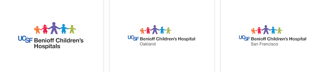 New logos for UCSF Benioff Children's Hospitals