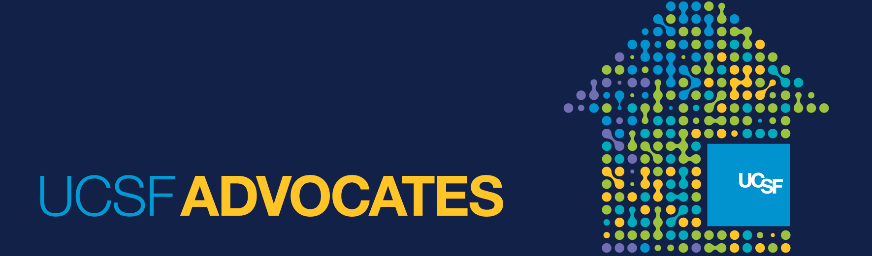 UCSF Advocates graphic banner