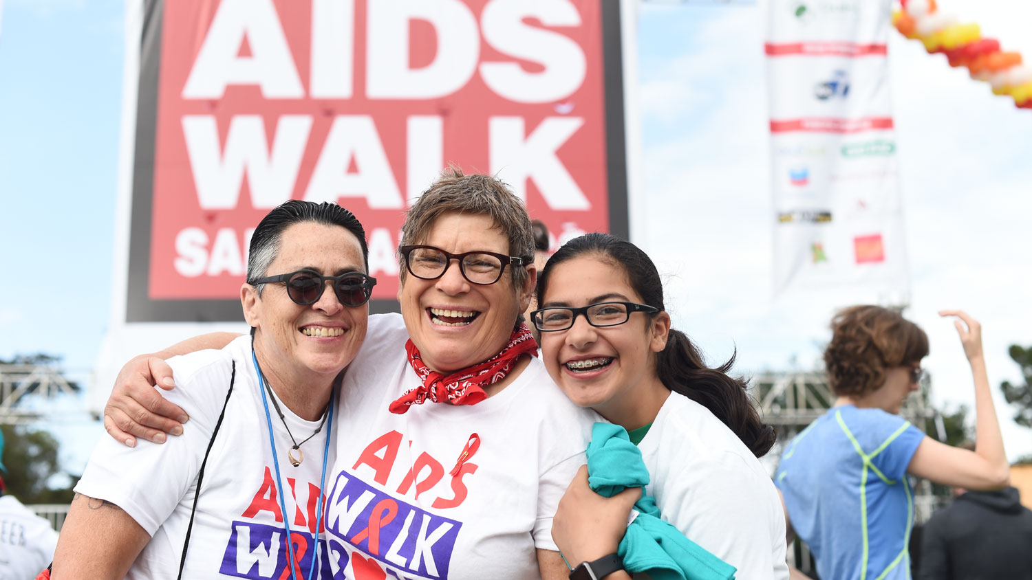 UCSF community members at AIDS Walk