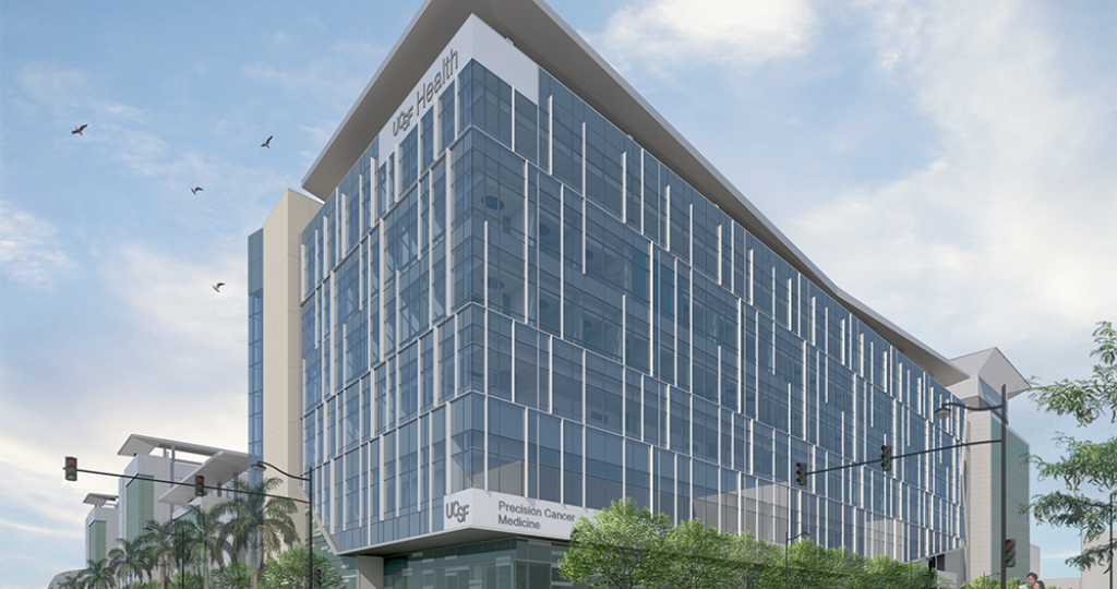 Rendering of the PCMB building