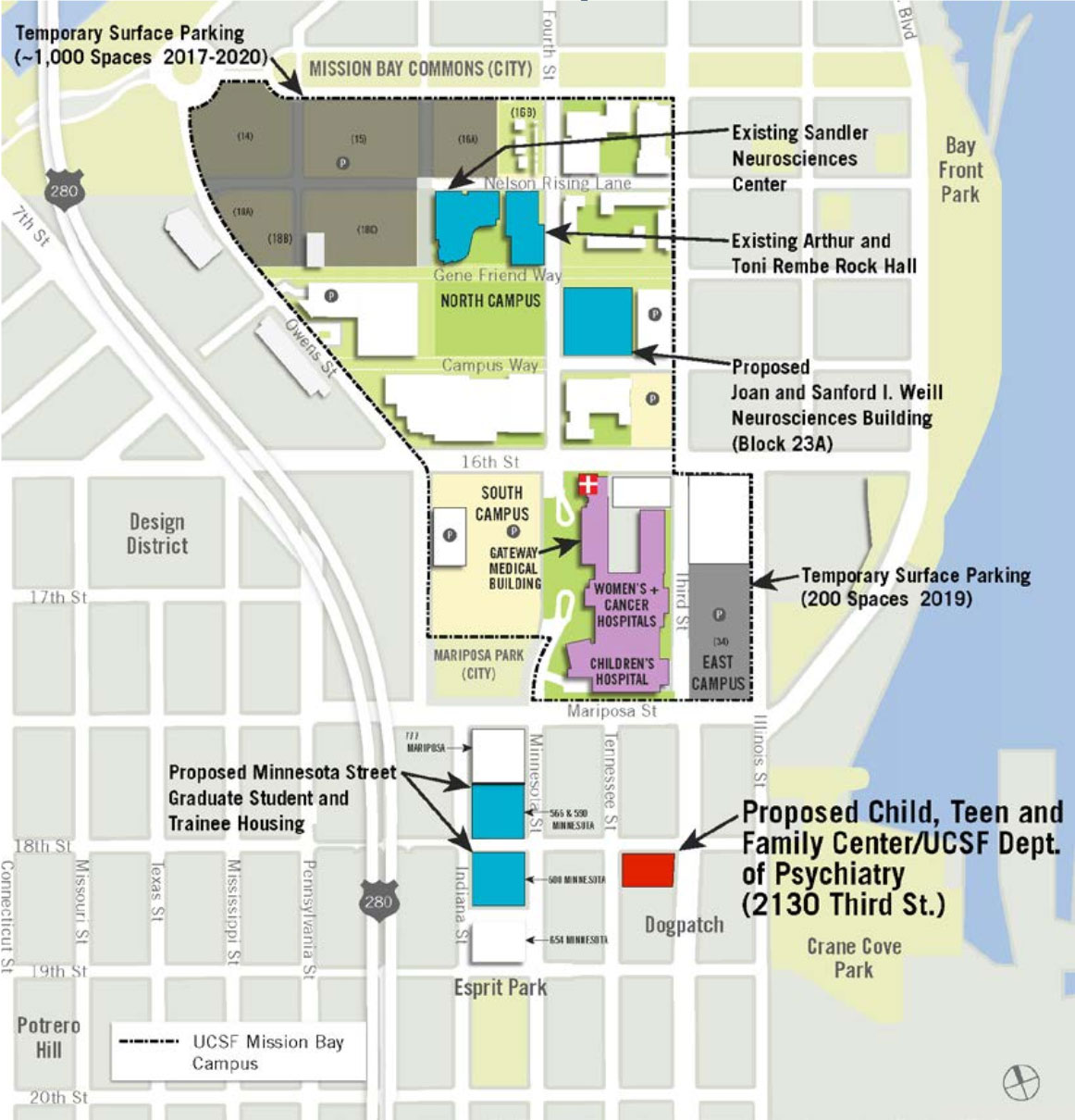 Mission Bay Campus Map.Uc Regents Approve Building Plans For 3 Projects In Mission Bay