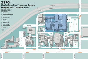 zsfg-map-thumb San Francisco General Hospital Campus Map on rochester general hospital campus map, johns hopkins hospital campus map, massachusetts general campus map, san francisco general hospital organization chart, san francisco state university campus map,