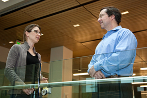 Lisa Wilsbacher, MD, PhD, and Shaun Coughlin, MD, PhD