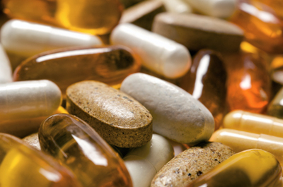 picture of vitamin E supplements
