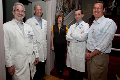 UCSF doctors, from left, Michael Blum, Andy Auerbach, Ellen Webber, Russ Cucina