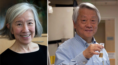 Lily Jan, PhD and her husband, Yuh Nung Jan, PhD
