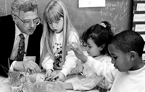 Bruce Alberts co-founded UCSF Science & Health Education Program in 1987.