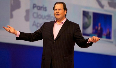 Salesforce.com founder Marc Benioff
