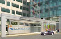Rendering of the planned UCSF Benioff Children's Hospital at Mission Bay