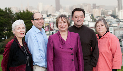 Margaret Walsh, Stuart Gansky, Jane Weintraub, Francisco Ramos-Gomez and Judith