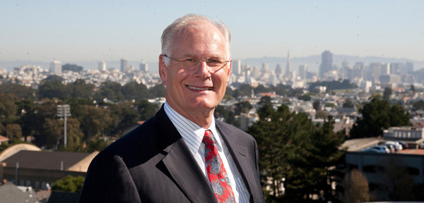 Mark Laret, CEO of UCSF Medical Center and UCSF Benioff Children's Hospital