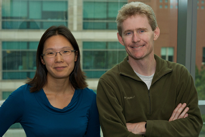 Ellen Yeh, MD, PhD, and UCSF biochemist Joseph DeRisi, PhD