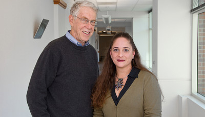 Howard L. Fields, MD, PhD and Jennifer Mitchell, PhD