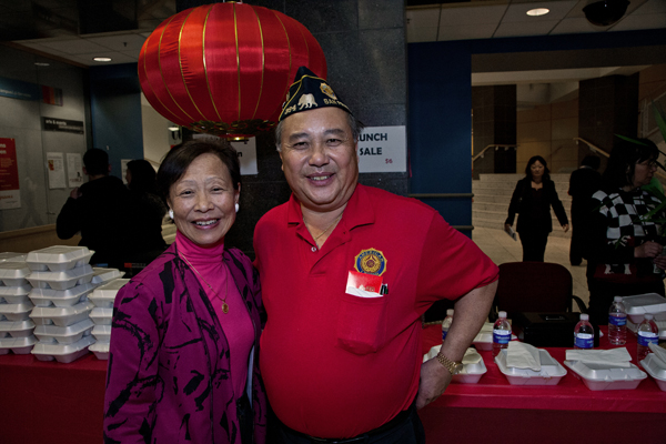 Joyce Chan and Ron Lee