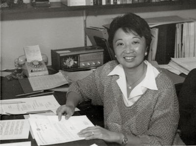 Mary Anne Koda-Kimble as a young faculty member with the Department of Clinical