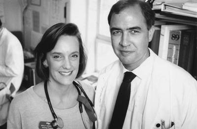 Paul Volberding, MD, and wife Molly Cooke, MD