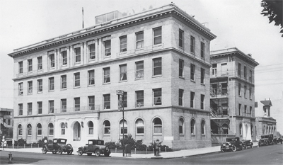 UCSF Mt. Zion Hospital, 1920s