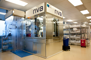 RIVA machine, which compounds chemotherapeutic drugs.