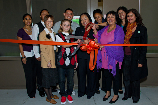 Community partners celebrate the opening of Havenscourt Health Center in Oakland