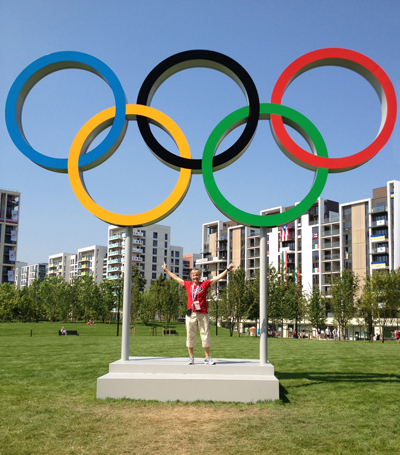 UCSF's Christina Allen at the London 2012 Olympic Games.