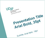 New ucsf powerpoint templates available uc san francisco for Ucsf powerpoint template