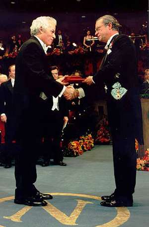 Stanley Prusiner received the Nobel Prize in 1997.