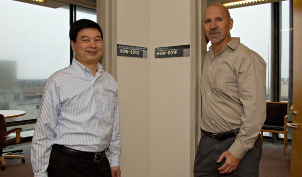 Pui-Yan Kwok, MD, PhD, and Neil Rish, PhD