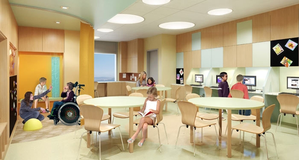 UCSF Benioff Children's Hospital on-site classroom