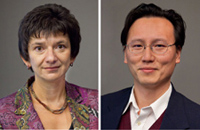 Tatjana Novakovic-Agopian, PhD and Anthony Chen, MD