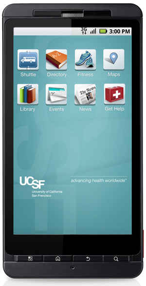 UCSF Releases Mobile App to Make Information Available on the Go