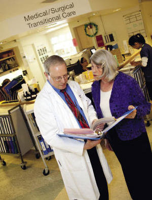 Robert Wachter, MD, and Mary Blegen, RN, PhD