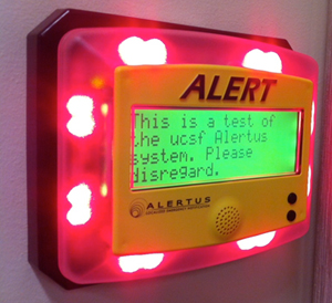 UCSF Installs WarnMe Emergency Alert Electronic Display Boards ...