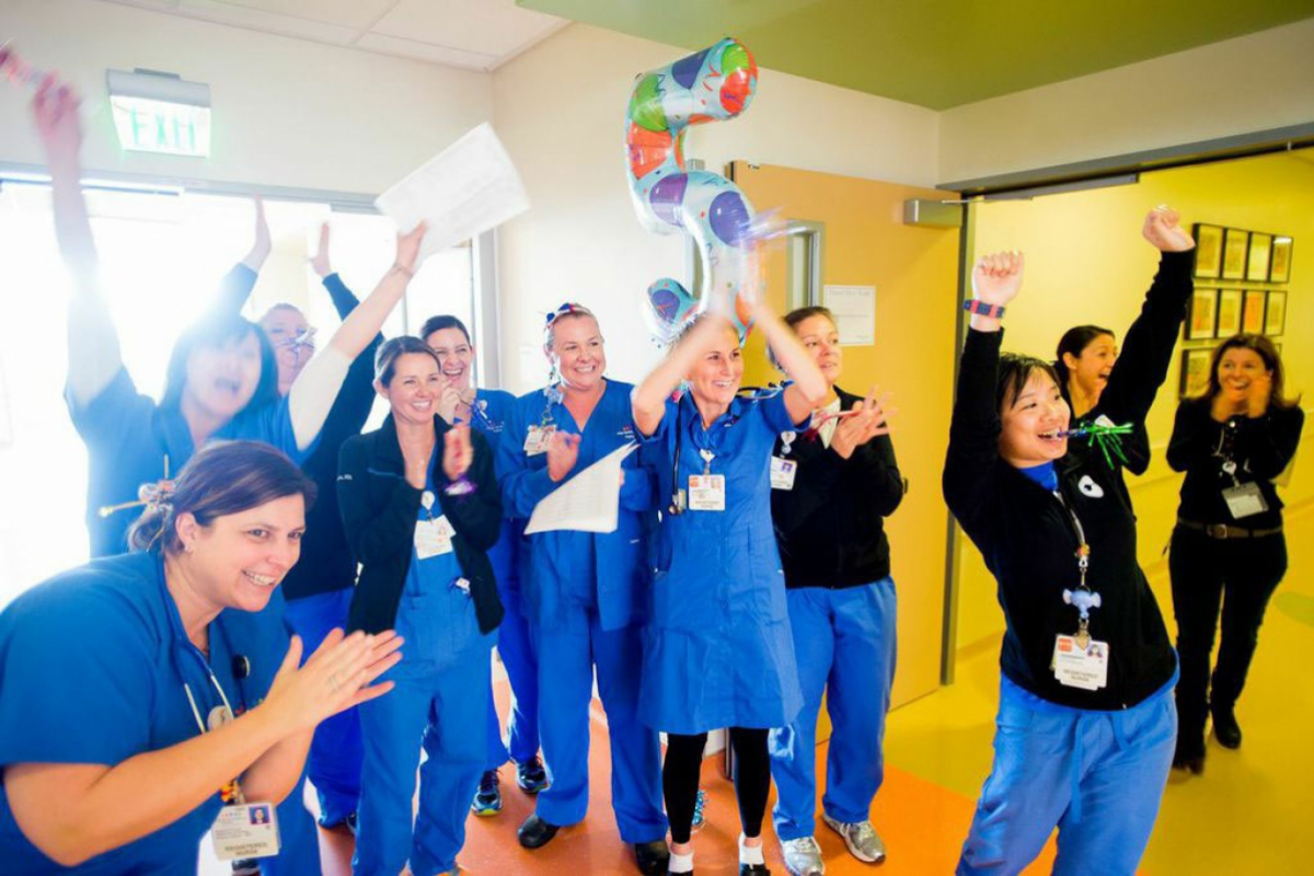Ucsf Medical Center At Mission Bay Opens Welcomes 131