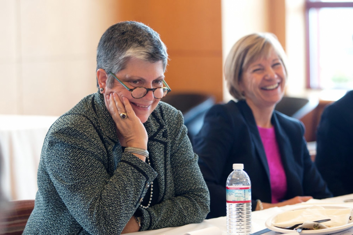 New Uc President Visits Ucsf To Listen And Learn Uc San Francisco