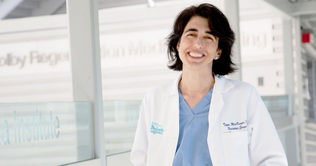 Tippi Mackenzie, a pediatric surgeon and stem cell researcher at UCSF