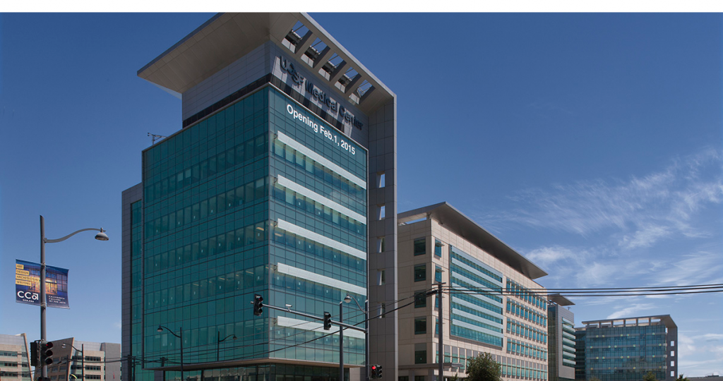 Exterior of UCSF Medical Center at Mission Bay