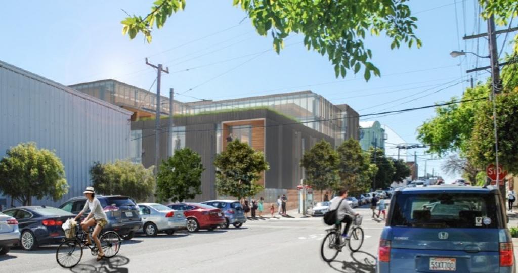rendering of 2130 Third Street building