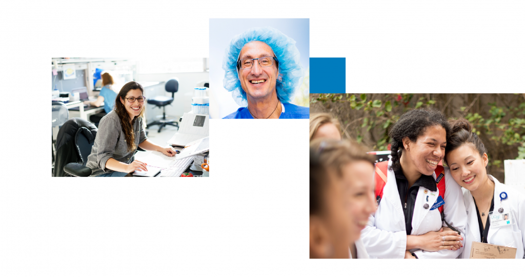 Medical students, postdocs, and staff members