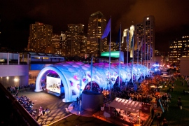 Dreamforce lawn