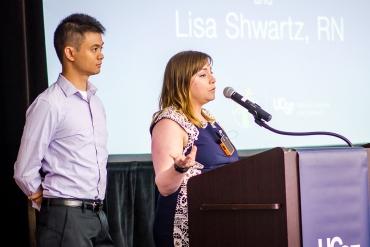 Laurence Henson and Lisa Shwartz