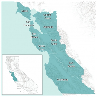 Cancer Cluster Map California on