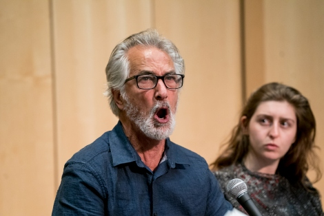 Actor David Strathairn reads scenes from Ajax