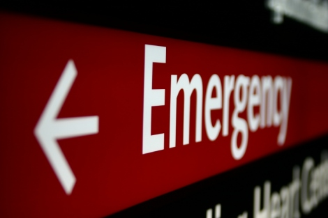 emergency room site