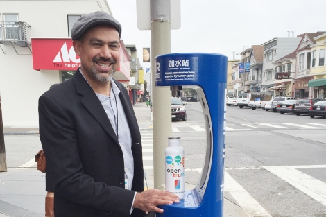 Access to Free Drinking Water in SF Neighborhoods Driven by